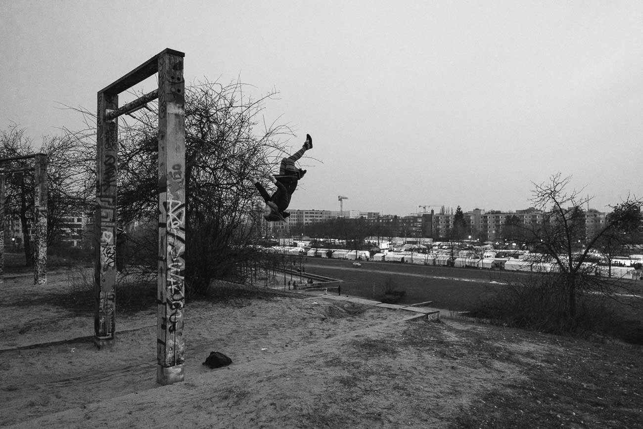 swing mauerpark Berlin Martin U Waltz