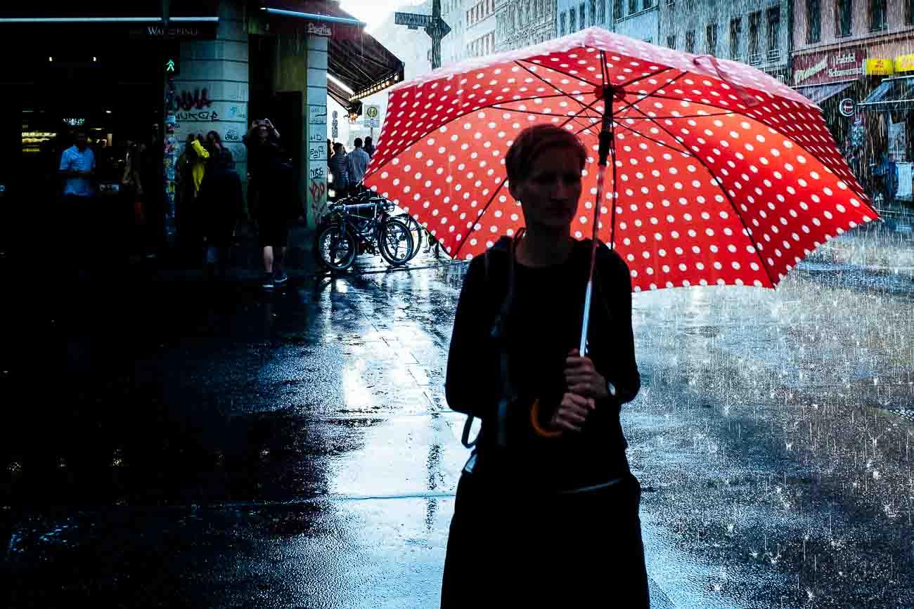 Street Photography rain Berlin Martin U Waltz