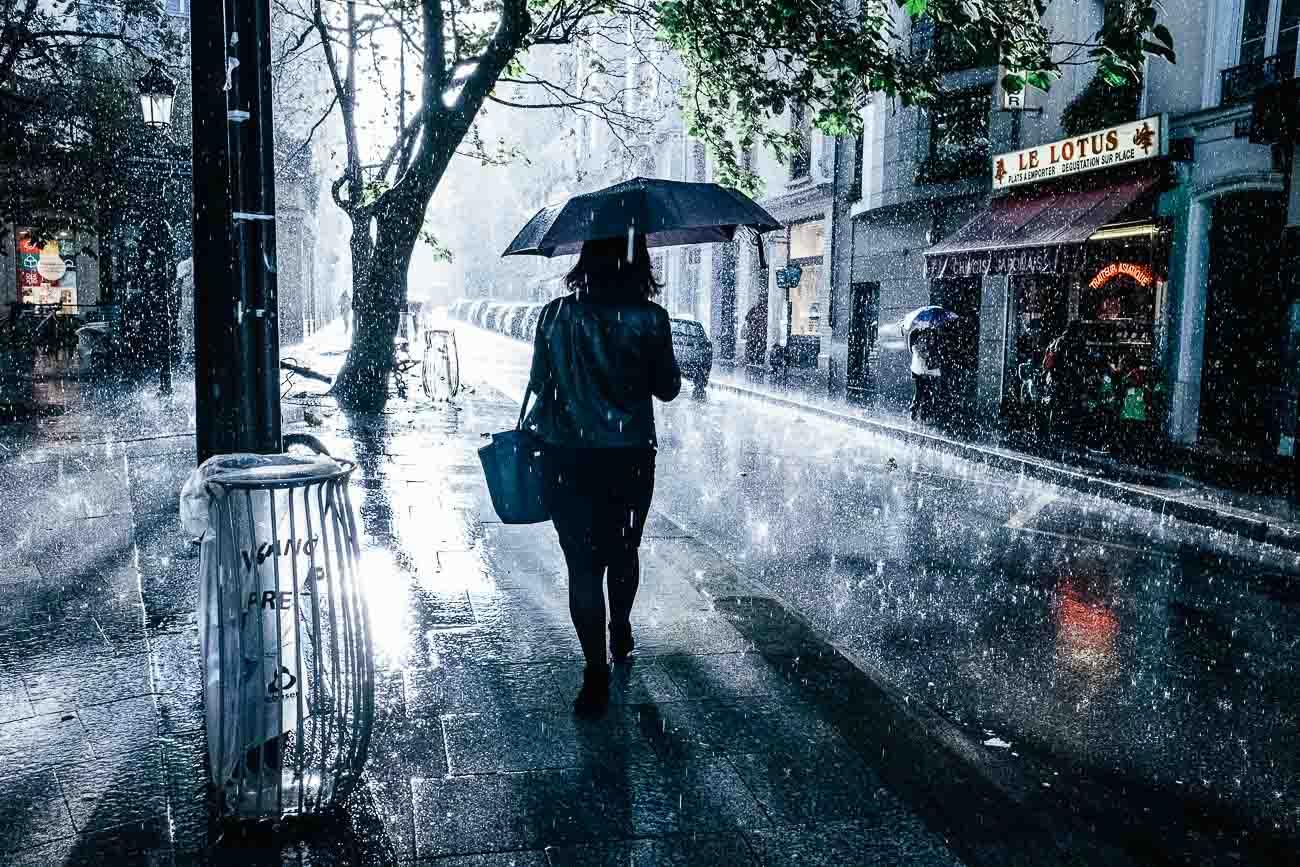 Street Photography paris Rain Martin U Waltz