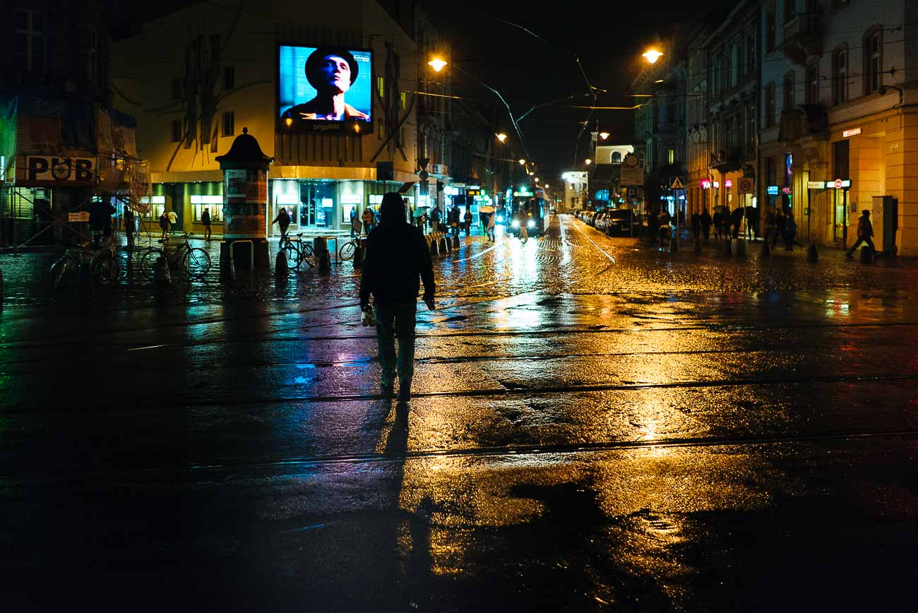 Street Photography Krakow Rain Martin U Waltz