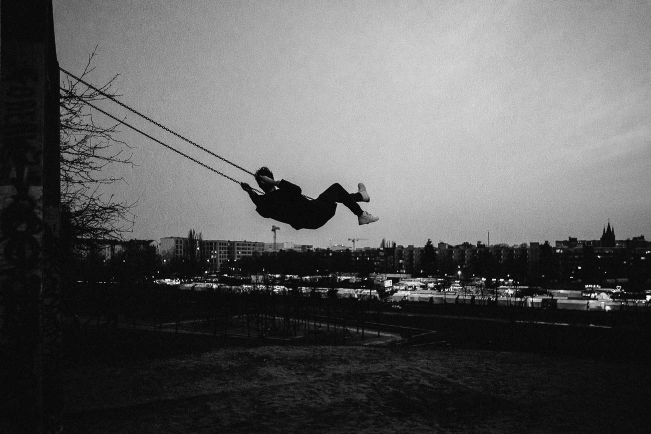 The Swing at Mauerpark by Martin U Waltz