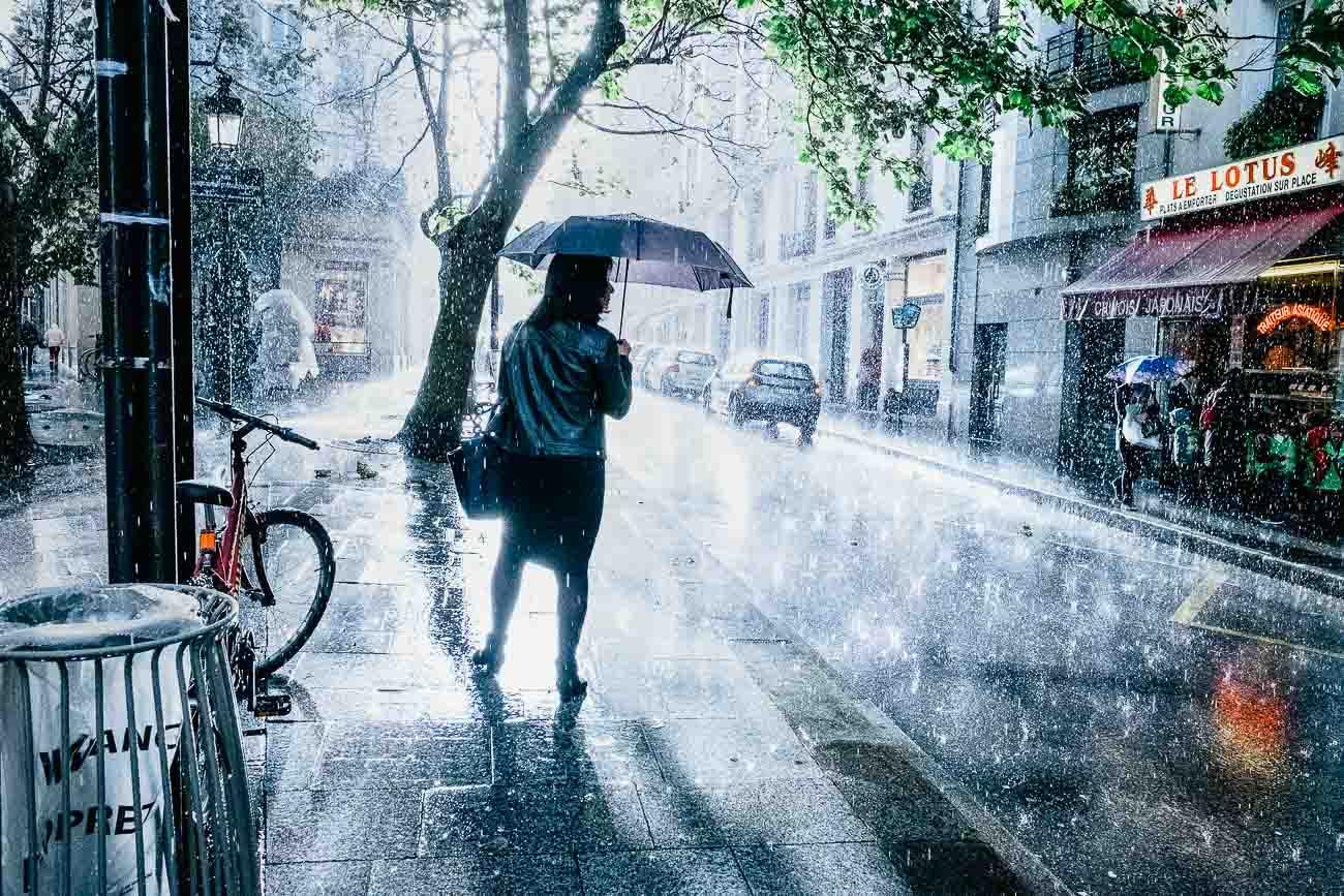 Streetfotografie und Regen Martin U Waltz