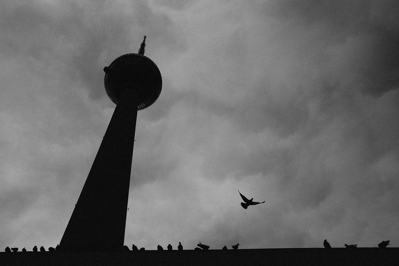 Berlin Fotografie Fernsehturm Alexanderplatz Martin U Waltz