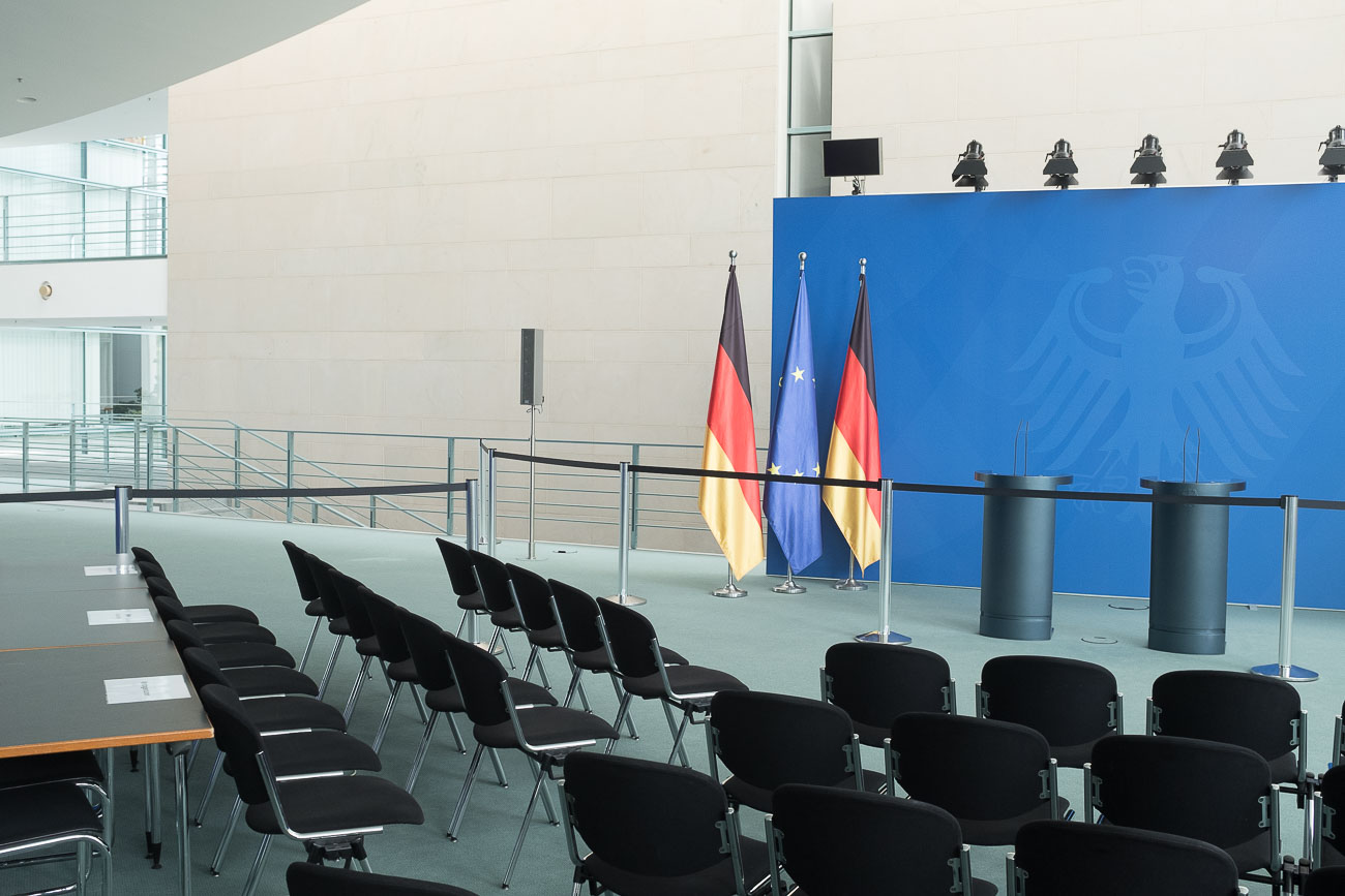 Inside German Bundestag and Chancellery Martin U Waltz