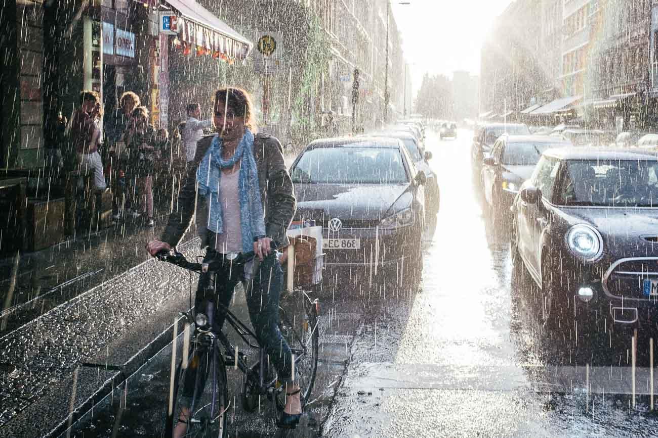 street photography regen Martin U Waltz