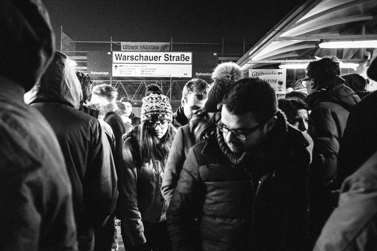 warschauer strasse s-bahn berlin Martin U Waltz