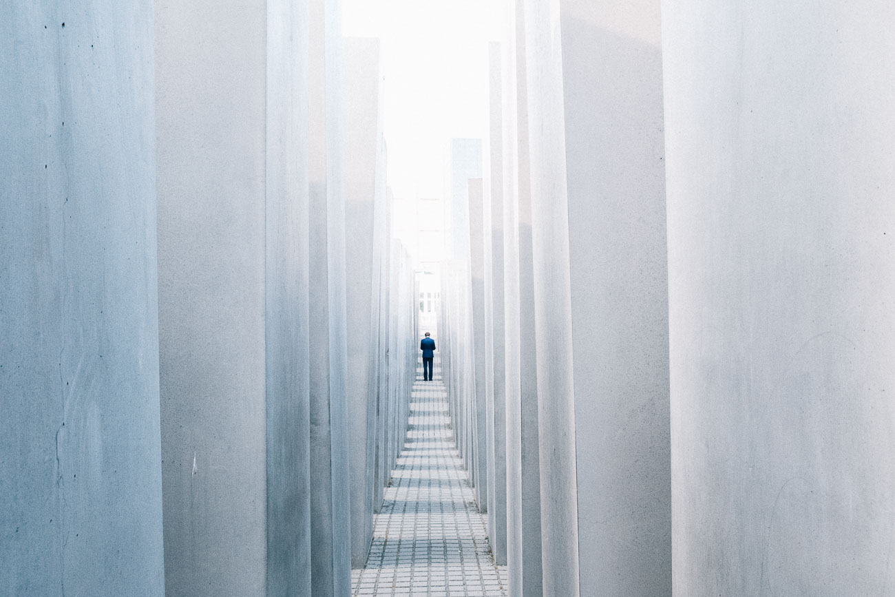 Berlin Photography Holocaust memorial street photography Berlin Martin U Waltz