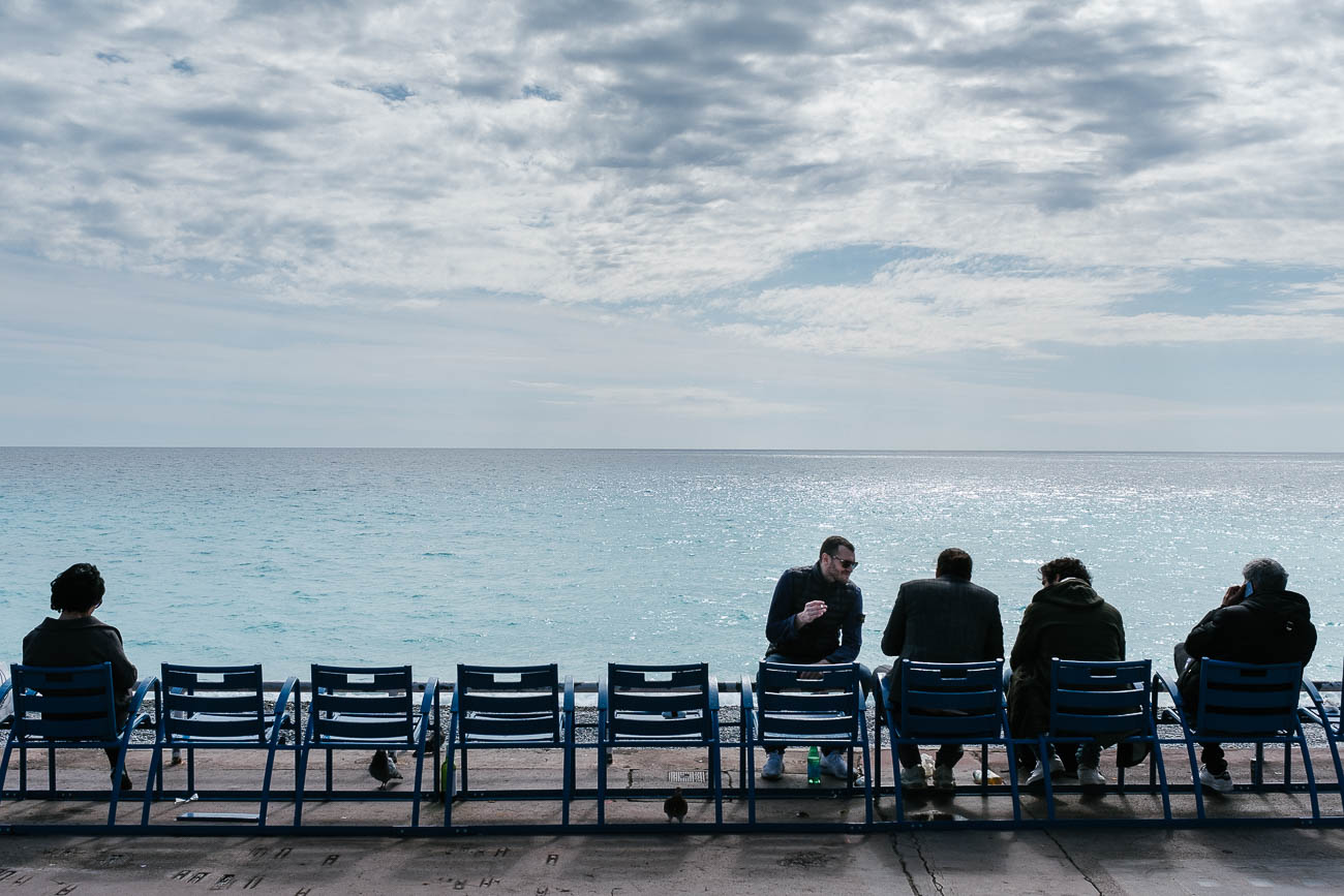 Seaside Nice France Promenade des anglais by Martin U Waltz