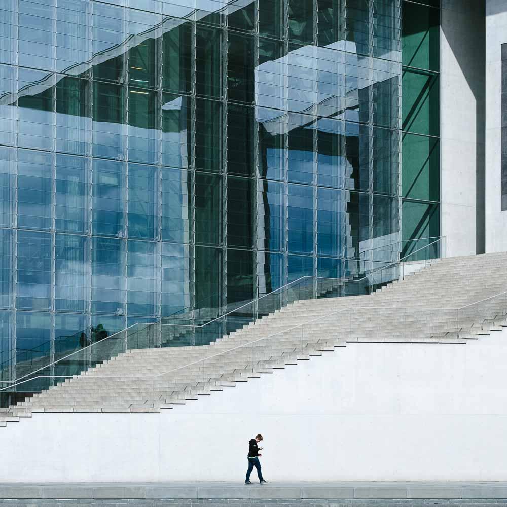 Street Photography Berlin von Martin U Waltz